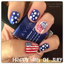 makeupmaven rebecca l nails are ready for the 4thofjuly she