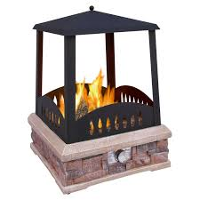 landmann grandview outdoor gas fireplace hayneedle