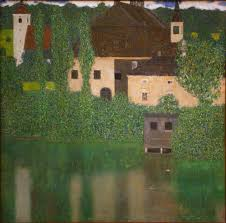 file gustav klimt castle with a moat jpg wikimedia commons