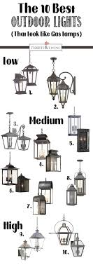 electric lights that look like gas lanterns the best outdoor hanging lights and sconces that look like gas ls