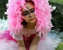 Pink Flamingo Halloween Costume Child Size Flamingo Tutu Flamingo Headpiece Halloween