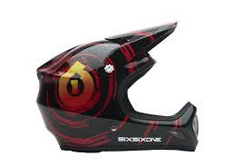 sixsixone motocross helmets amazon com sixsixone evolution carbon full face bike helmet