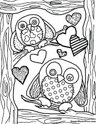 coloring page for adults owl picture of owls to color picture of owls to color owl color pages