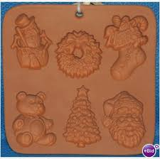 christmas miniatures the cotton press cookie mould is a