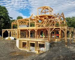 Timber Frame Barn Homes Timber Home Living Woodhouse The Timber Frame Company