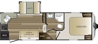 Keystone Rv Floor Plans Keystone Rv 25rks Floorplan Rv Floorplans Pinterest Keystone