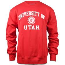 of utah crew neck sweatshirt goutes universityofutah
