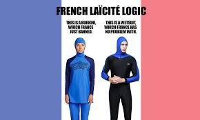Meme France - french mayors just banned the burkini the country s islamophobic