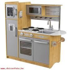 jouet cuisine en bois pas cher cuisine enfant uptown naturelle en bois jouet dimitation kidkraft