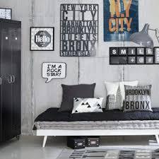 chambre ado stylé idée déco chambre garçon style industriel scandinave inspiration