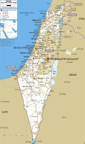 sheva israel map large road map of israel with cities and airports israel asia
