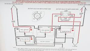 bass boat battery wiring diagram wiring diagram and schematic design