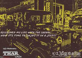jeep quotes a biker to a jeeper mahindra thar crde team bhp