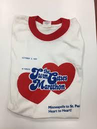 34 years of cities marathon swag finisher shirts through the