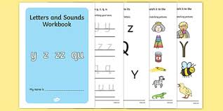 letters and sounds workbook y z zz qu letters sounds