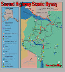 Map Of Anchorage Alaska by Explore The Seward Highway Explorenorth