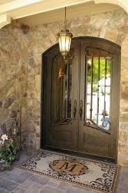 glass brick doorway u0026 best 25 iron front door ideas on pinterest