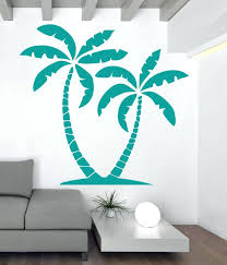 tree decal for walls palm tree wall decal decor palm