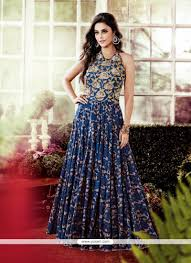 gown designs shop online trendy cotton multi colour designer gown