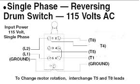 single phase forward reverse wiring diagram single wiring