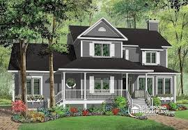 country home design house plan w3846 detail from drummondhouseplans