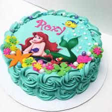 mermaid birthday cake the mermaid cake pinteres