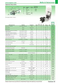 accessories 2014 fasteners page 41 sparex parts lists