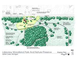 Battle Creek Michigan Map by Park Maps Woodland Park And Nature Preserve