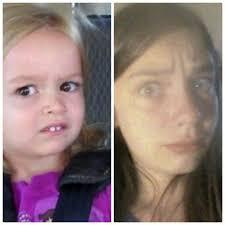Meme Girl Car Seat - screech 200 followers face reveal time slimesona amino amino