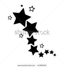 stars star design tattoo stock vector 415848967 shutterstock