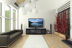 indoor minimalist living room simple modern interior design