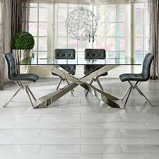 Glass Dining Table And 6 Chairs Glass Dining Table And 6 Chairs