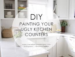 what type of paint to use on formica cabinets diy painting my kitchen countertops meredith designs