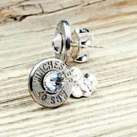 bullet stud earrings best winchester bullet earrings products on wanelo
