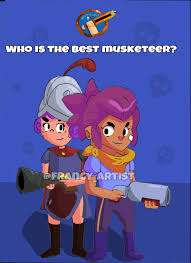 clash of clans fan art summer of fanart who is the best musketeer clashroyale