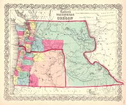 oregon map with cities 14 best oregon images on globes oregon and antique maps