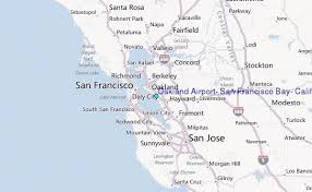 california map oakland oakland airport san francisco bay california tide station