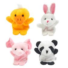 baby puppet 10 pcs lot baby plush finger puppets tell story props animal