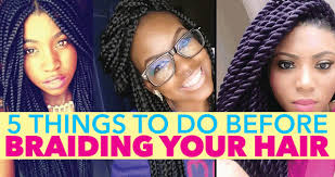 how to braid extensions into your own hair 5 things to do before braiding your natural hair blackhairkitchen