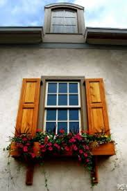 types of decorative window shutters