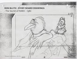 pudleiner don bluth storyboards 1 secret nimh