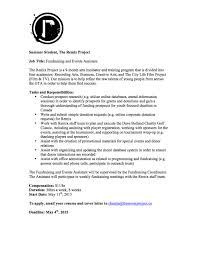 event assistant cover letter the remix project toronto is currently hiring remix project