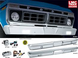 custom chrome bumpers lighted for your truck or bronco 1973 79
