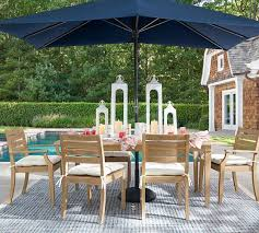 Pottery Barn Patio Umbrella by Belmont Butterfly Dining Table Pottery Barn