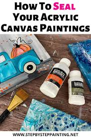 should i put a top coat on painted cabinets how to seal an acrylic painting step by step painting
