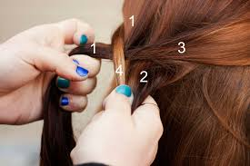 How To Braid Extensions Into Your Hair by Fishtail Braid Mermaid Braid Step By Step Tutorial Makeup Geek