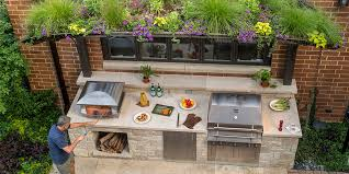 outside kitchen ideas chicago outdoor kitchen kalamazoo outdoor gourmet