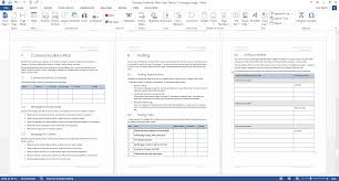 Microsoft Business Plan Templates Business Continuity Plan Download 48 Pg Ms Word 12 Excel Template