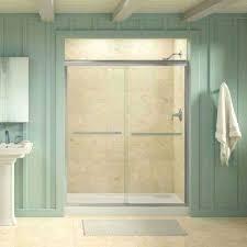 Fluence Shower Door Semi Frameless Kohler Shower Doors Showers The Home Depot Door