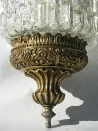 vintage glass pendant light antique glass pendant lights ornate gold glass lantern swag l